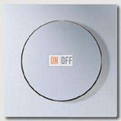 Светорегулятор JUNG универсальный поворотно-нажимной LED 3-100Вт., 20-420Вт ламп накал. и галог., 1731DD -  A1540AL