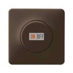 Светорегулятор поворотно-нажимной 60-400 Вт для ламп накаливания 244EX - CD1540BR