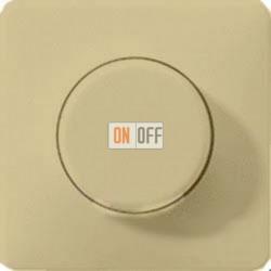 Светорегулятор поворотно нажимной 20-420 Вт. для ламп накаливания и галог.220В и  универсальный LED 3-100Вт  1731DD - CD1540GB