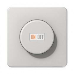 Светорегулятор поворотно нажимной 20-420 Вт. для ламп накаливания и галог.220В и  универсальный LED 3-100Вт  1731DD - CD1540LG