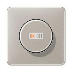 Светорегулятор поворотно нажимной 20-420 Вт. для ламп накаливания и галог.220В и  универсальный LED 3-100Вт  1731DD - CD1540PT