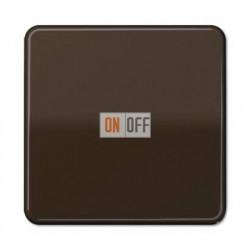 Выключатель одноклавишный, универс. (вкл/выкл с 2-х мест) 10 А / 250 В~ 506u - CD590BR