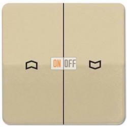 Выключатель управления жалюзи клавишный, 10 А / 250 В~ 509VU - CD595PGB