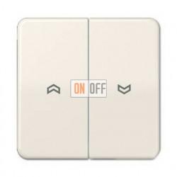 Выключатель управления жалюзи кнопочный, 10 А / 250 В~ 539VU - CD595P