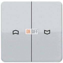 Выключатель управления жалюзи кнопочный, 10 А / 250 В~ 539VU - CD595PPT
