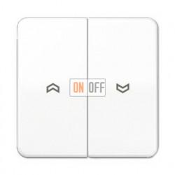 Выключатель управления жалюзи кнопочный, 10 А / 250 В~ 539VU - CD595PWW
