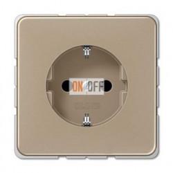 Розетка с заземляющими контактами 16 А / 250 В~ CD1520GB