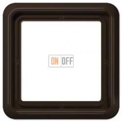 Рамка одинарная Jung CD 500, коричневый CD581BR