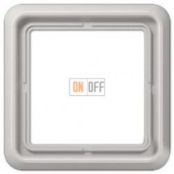 Рамка одинарная, Jung CD 500, светло серый CD581LG