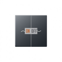Выключатель управления жалюзи кнопочный, 10 А / 250 В~ 539VU - A595BFPANM