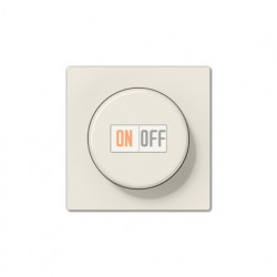 Светорегулятор поворотно-нажимной 60-400 Вт для ламп накаливания 244EX - A1540