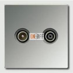 Розетка телевизионная проходная TV FM, диапазон частот от 4 до 2400 MГц S2900-10 - gcr2990tv