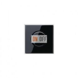 Светорегулятор (электронный потенциометр) 1-10 В, черный глянец  240-10 - LS1940SW