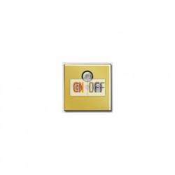 Розетка телевизионная проходная TV SAT FM, диапазон частот от 4 до 2400 MГц S4110 - GO2990SAT