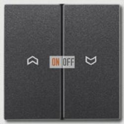 Выключатель управления жалюзи кнопочный, 10 А / 250 В~ 539VU - al2995pan