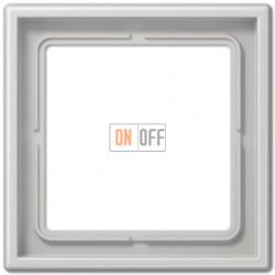 Рамка на 1 пост Jung LS 990, светло-серый LS981LG