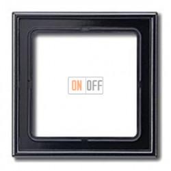 Рамка одинарная Jung LS 990, черный глянцевый ls981sw
