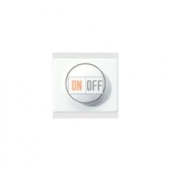 Светорегулятор поворотно-нажимной 60-400 Вт для ламп накаливания 244EX - SL1540WW