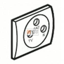 Розетка телевизионная оконечная TV SAT FM, диапазон частот от 4 до 2400 MГц S4100 - sl561satsw
