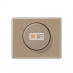 Светорегулятор поворотно-нажимной 60-400 Вт для ламп накаливания 244EX - SL1540GB