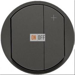 Светорегулятор кнопочный Legrand Celiane 300Вт (графит) 64950 - 67081 - 80251