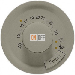 Терморегулятор для теплых полов Legrand Celiane  (титан) 68549 - 67405 - 80251