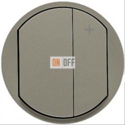 Светорегулятор кнопочный Legrand Celiane 600Вт  (титан) 65183 - 67082 - 80251