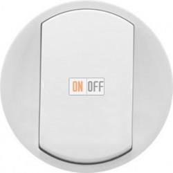 Выключатель кнопочный без фиксации Legrand Celiane 10А  (белый) 68001 - 67032 - 80251