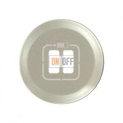 Розетка USB двойная для зарядки, 1500 мА (титан) 67462 - 68556 - 80251