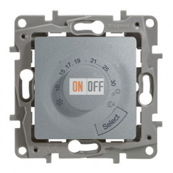 Термостат для теплого пола Etika (алюминий) 672430