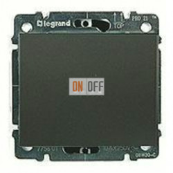 Выключатель одноклавишный с подсветкой, универс. (вкл/выкл с 2-х мест) 10 А / 250 В~ 775602 - 771234
