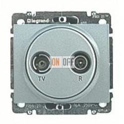 Розетка телевизионная оконечная TV FM, диапазон частот от 5 до 862 MГц 775786 - 771372