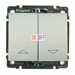 Выключатель управления жалюзи для прямого управления приводом с механич.блокировкой, 10 А / 250 В~ 775804 - 771314