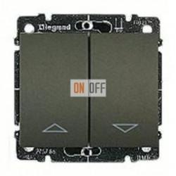 Выключатель управления жалюзи для прямого управления приводом с электрич.блокировкой, 10 А / 250 В~ 775814 - 771214