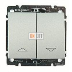 Выключатель управления жалюзи для прямого управления приводом с электрич.блокировкой, 10 А / 250 В~ 775814 - 771314