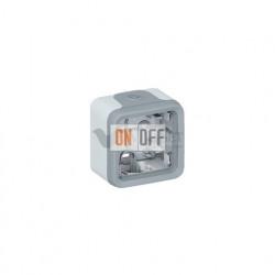 Коробка для накладного монтажа, 1 пост IP55 Legrand Plexo, серый 69651