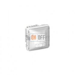 Датчик движения без нейтрали с функцией ручного управления 40-400Вт IP55  Legrand Plexo, серый 69501