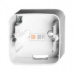 Одноместная коробка для накладного монтажа Valena Allure, белый 755551