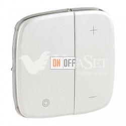 Кнопочный светорегулятор без нейтрали 5-400 Вт Valena Allure, перламутр 752062 - 752089