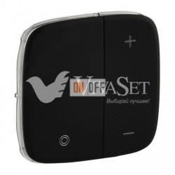 Кнопочный светорегулятор без нейтрали 5-400 Вт Valena Allure, матовый черный 752062 - 752088
