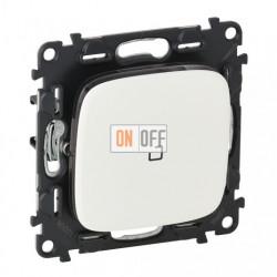 Выключатель одноклавишный с подсветкой  10 AX - 250 В, Valena Allure белый 752001 - 67684 - 755085