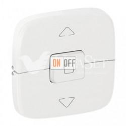Кнопочный выключатель управления для жалюзи и рольставней 10 A – 250 В Valena Allure, белый 752030 - 755145