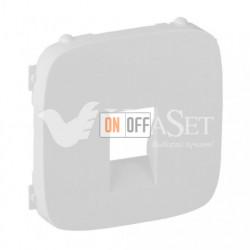 Розетка одинарная акустическая  с пружинными зажимами Valena Allure, белый 753072 - 755365
