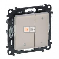 Кнопочный светорегулятор без нейтрали 5-400 Вт Valena Life, слоновая кость 752062 - 754891