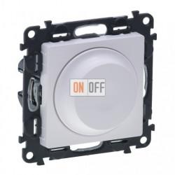 Светорегулятор с поворотной ручкой, без нейтрали 5-300 Вт Valena Life, белый 752060 - 754880