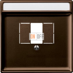 Розетка для стерео-громкоговорителя, цвет коричневый SLA2WW - MTN4250-4015