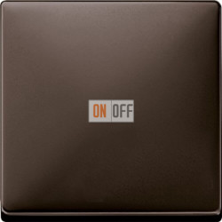 Выключатель одноклавишный 10 А / 250 В~, цвет коричневый MTN3111-0000 - MTN3300-4015