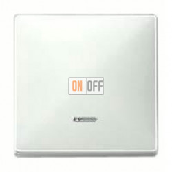 Выключатель одноклавишный с подсветкой, универс. (вкл/выкл с 2-х мест) 10 А / 250 В~ MTN3136-0000 - MTN438019
