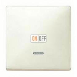 Выключатель одноклавишный с подсветкой, универс. (вкл/выкл с 2-х мест) 10 А / 250 В~ MTN3136-0000 - MTN438044