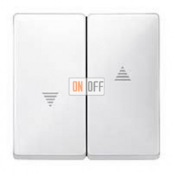 Выключатель управления жалюзи кнопочный, 10 А / 250 В~ MTN3755-0000 - MTN411519